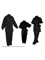 U0750 - Black Satin Uniform