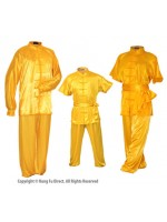 U0752 - Yellow Satin Uniform