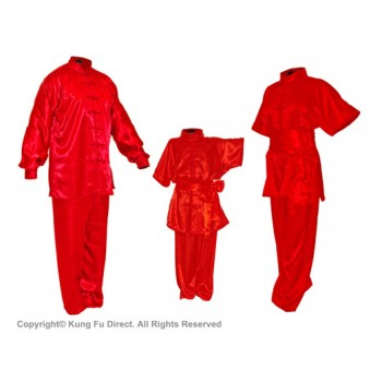 U0755 -Red Satin Uniform
