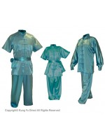 U0759 - Sky Blue Satin Uniform