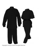 U0770 - Black Soft Cotton Uniforms