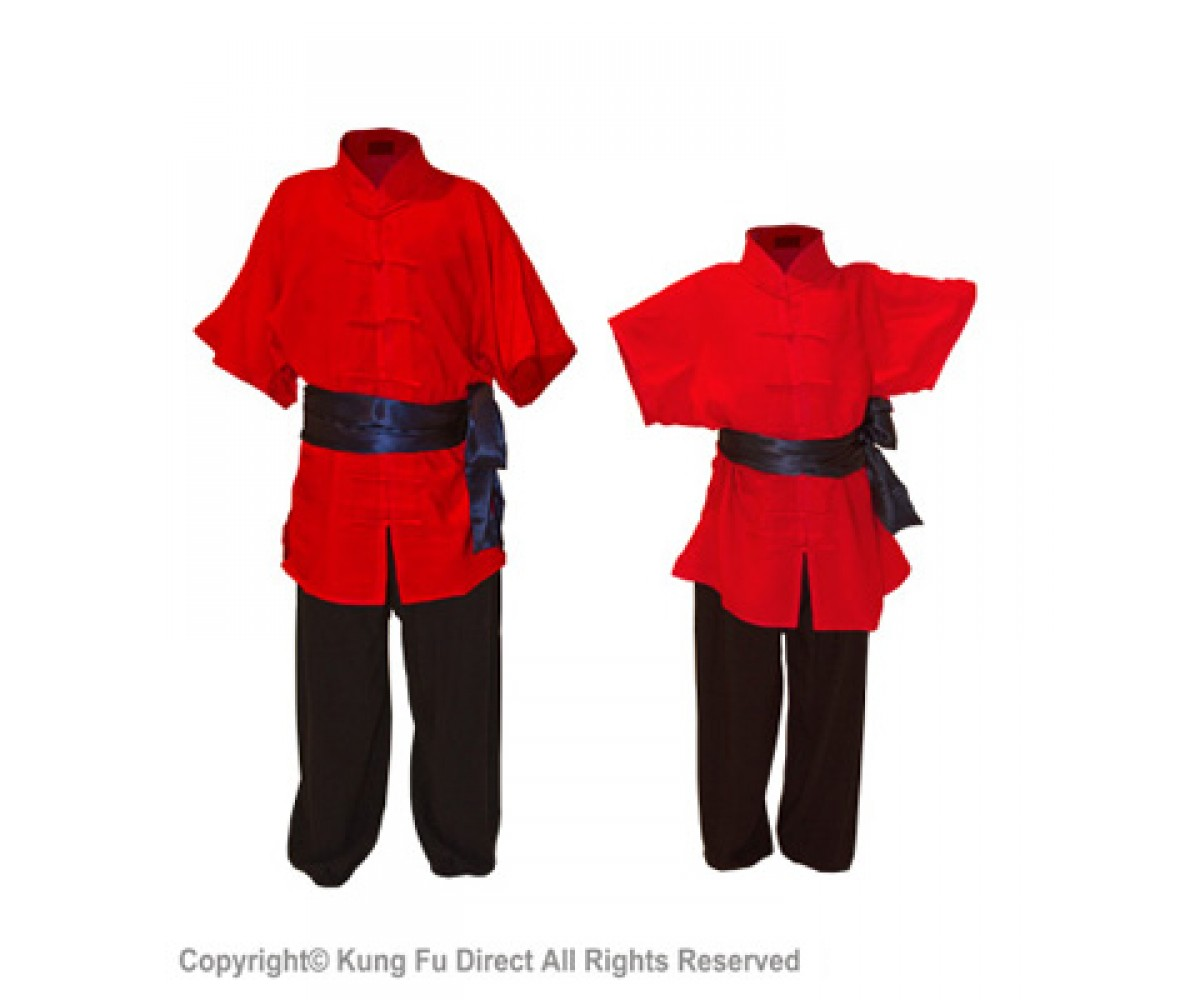 U0771 - Red Soft Cotton Uniforms
