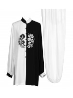 UC022 - Black/White Cloud Tai Chi Uniform