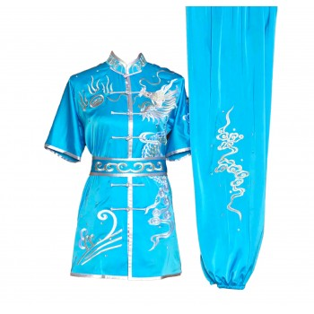 UC031 - Sky Blue Uniform with Dragon Embroidery