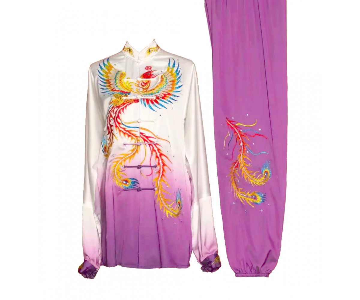 UC030 - Maroon Uniform with Series of Dragon Embroidery