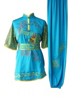 UC078 - Teal Uniform with Dragon Embroidery