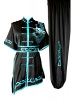 UC091 - Black Uniform with Dragon Embroidery