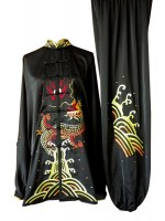 UC092 - Black Uniform with Dragon Embroidery