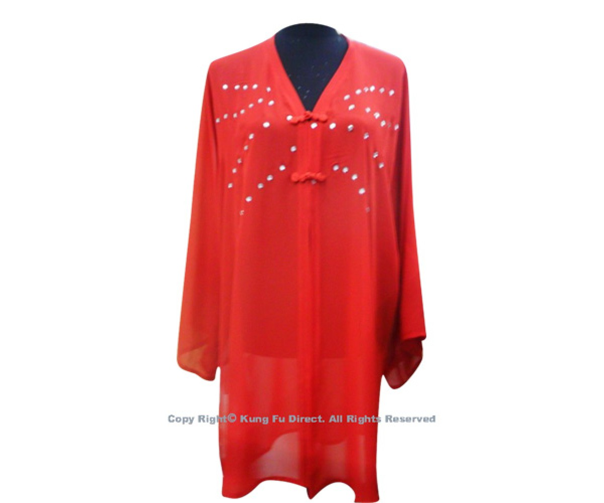 UC113 - Red Shawl with Jewel