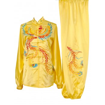 UC402 - Yellow Uniform with Phoenix Embroidery