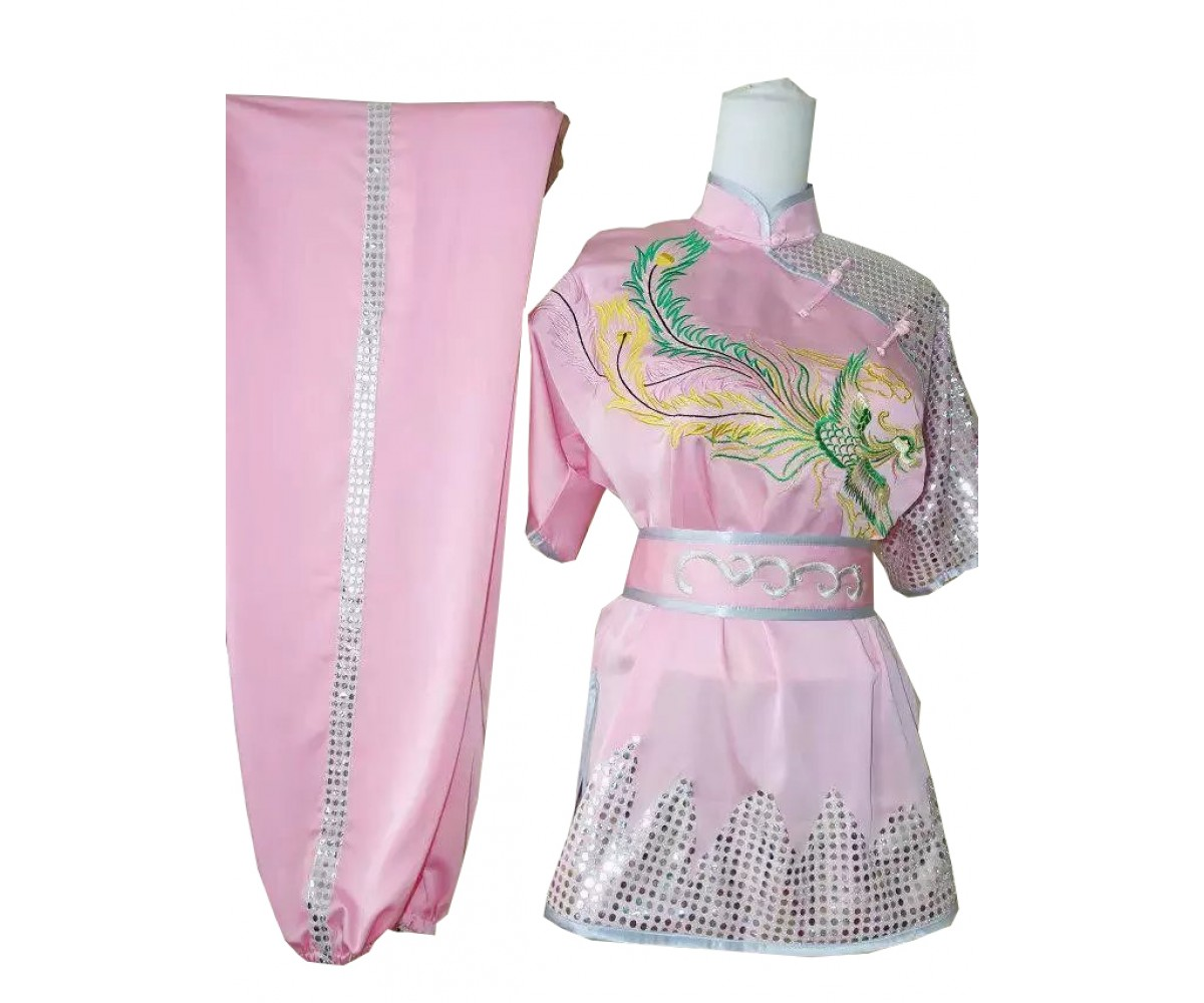 UC405 - Pink Uniform with Silver Trim