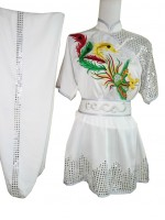 UC406 - White Uniform with Silver Trim
