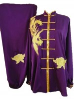 UC500 - Purple Uniform with Golden Trim