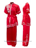 UC503 - Red Uniform with Silver Phoenix Embroidery(1)