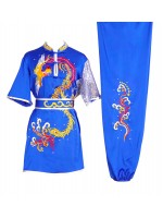 UC504 - Blue Uniform with Phoenix Embroidery