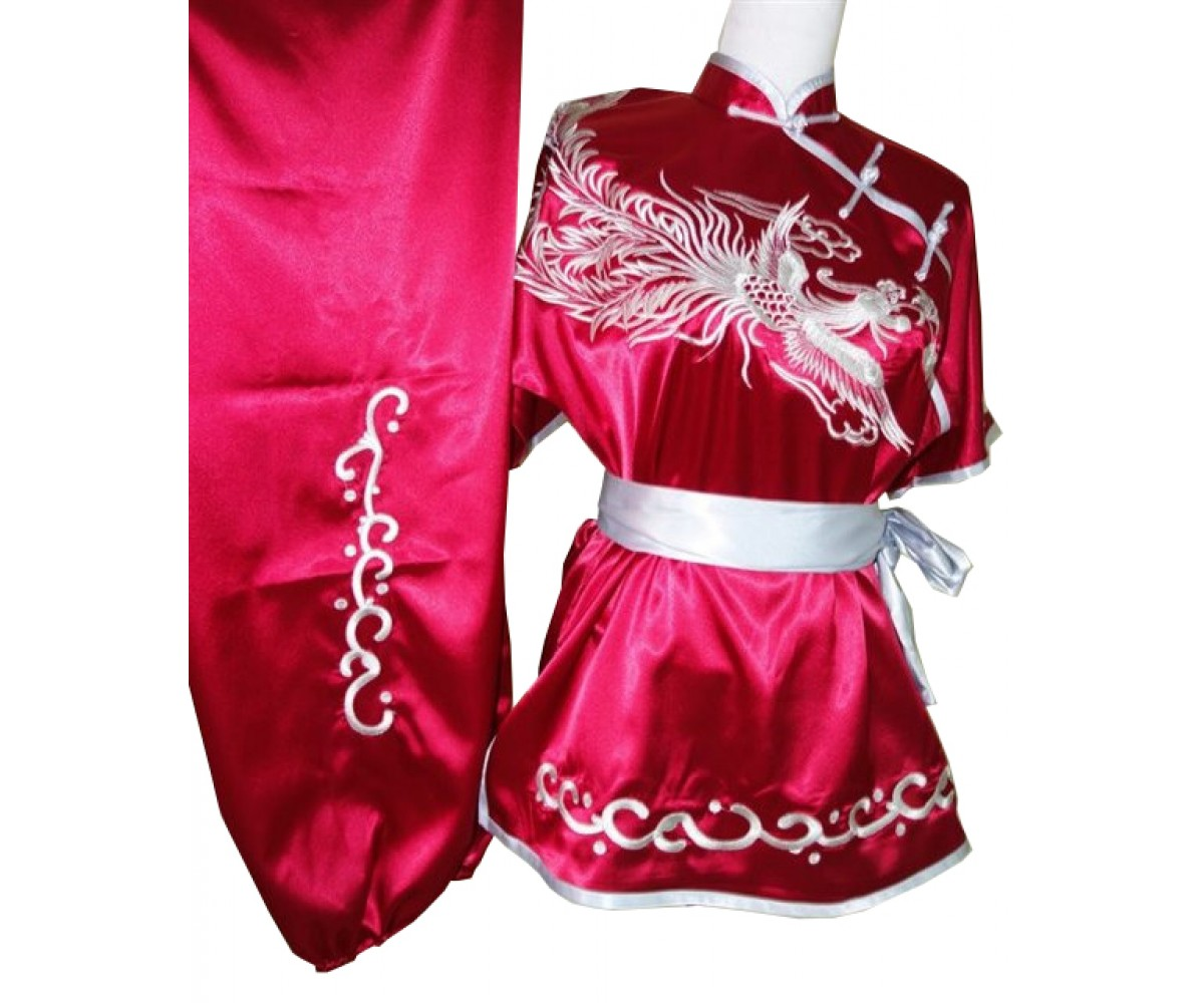 UC505 - Red Uniform with Silver Trim
