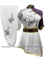 UC509 - White Uniform with Phoenix Embroidery