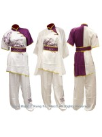 UC509-2 - White Uniform with Phoenix Embroidery