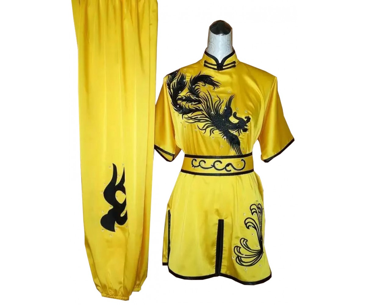 UC515 - Yellow Uniform with Black Trim