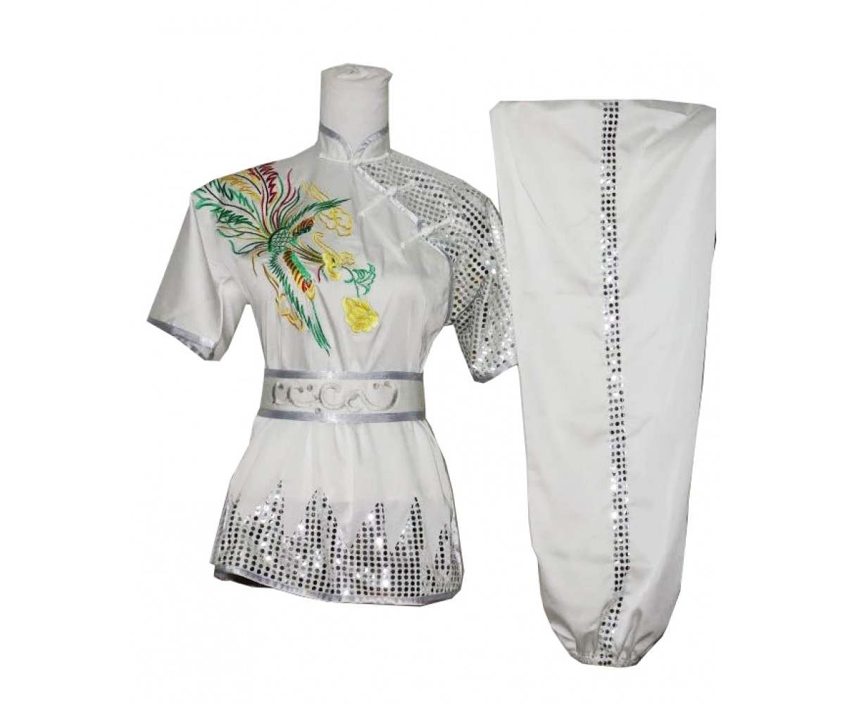 UC516 - White Uniform with Silver Trim
