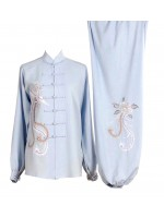UC518 - Light Blue Uniform with Phoenix Embroidery