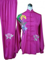 UC519 - Purple Uniform with Embroidery