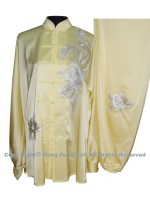 UC520 - Light Yellow Uniform with Sliver Phoenix Embroidery