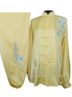 UC831 - Yellow Uniform With Filled Edelweiss Embroidery
