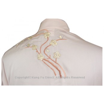 UC842 - Light Pink Uniform with Filled Blossom Embroidery