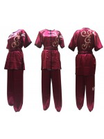 UC000 - Maroon Uniform with Embroidery