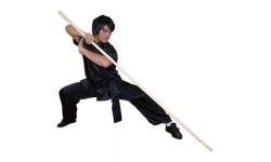 WSL001 - Wushu Cudgel Wax Wood Staff - 武术白蜡杆