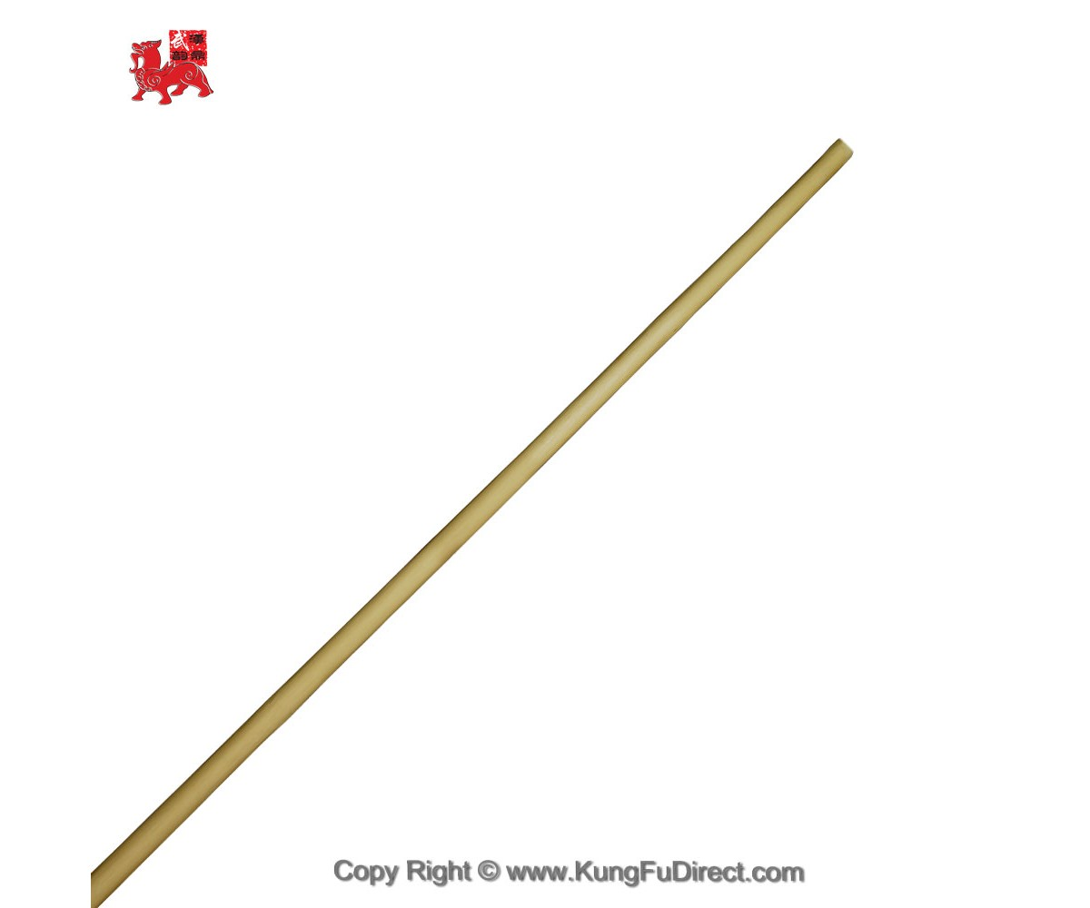 WSL001 - Kid's Wushu Cudgel Wax Wood Staff 武术白蜡杆