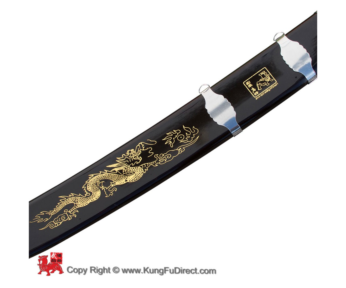WSS023 -  Han Ding Traditional Broadsword -Firm Blade 汉鼎硬单刀