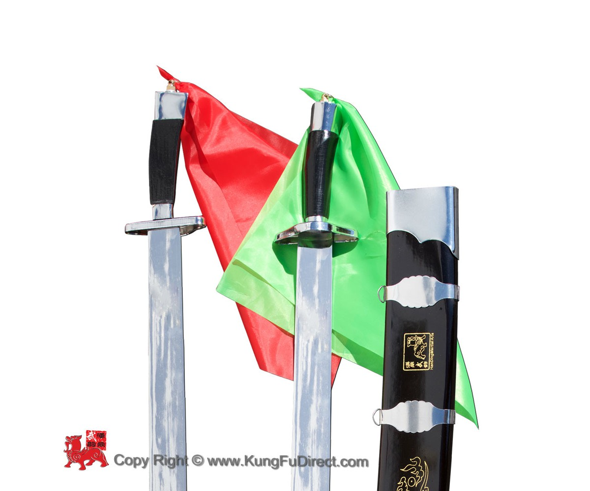 WSS024  - Han Ding Traditional Twin Broadsword 汉鼎硬双刀