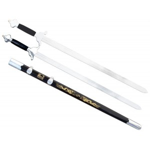 WSS021 - Wushu Twin Straight Sword