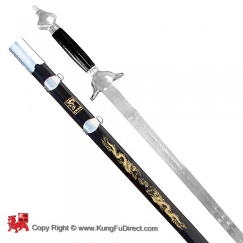 WSS025 - Han Ding Traditional Straight Sword Firm Blade 汉鼎硬单剑