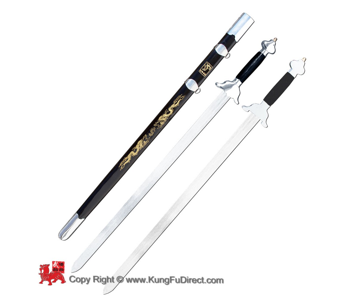 WSS021 - Wushu Twin Straight Sword_(Soft blade)