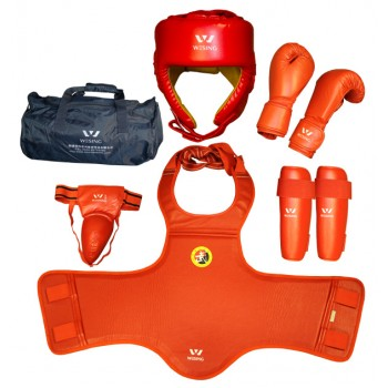 SD07-1 Competition Sanda Martial Arts Gear Set
