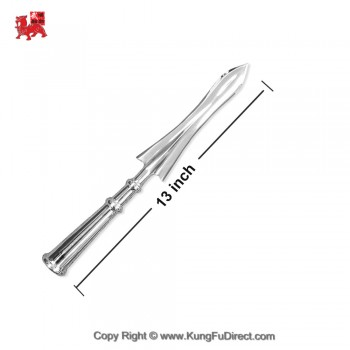 AC027-1  LiuHe Medium Stainless Steel Spear Head