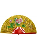 Fan05 - Mudan Flower Golden Fan