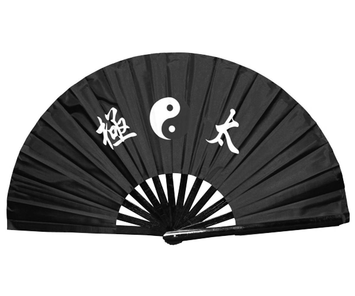 Fan22 -Black Tai Chi Fan