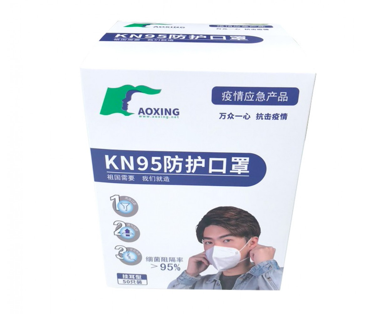 KN95 Respirator, Surgical Particulate Mask, 10 Piece/Bag FDA Approved