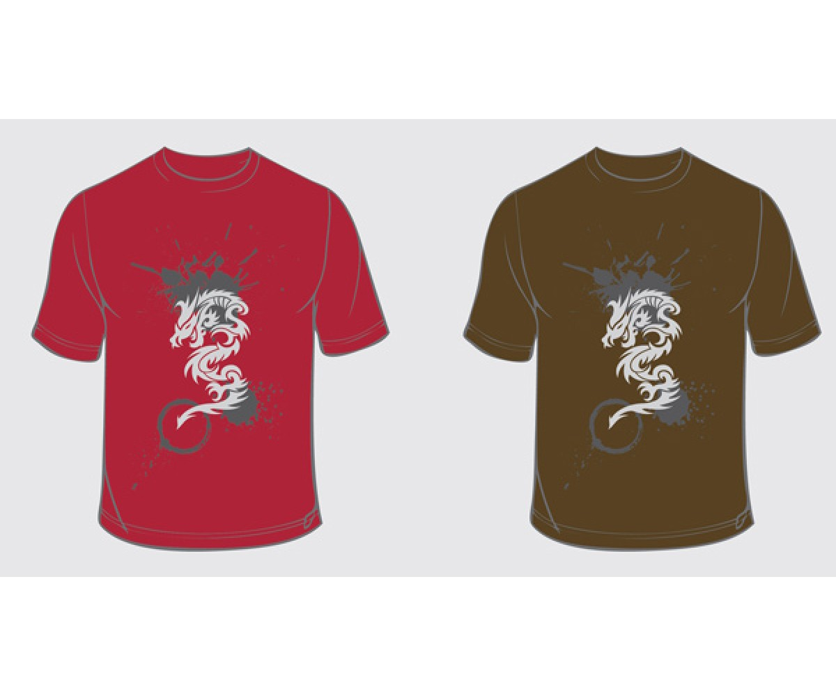 T1101 - Dragon Art Shirt - Series 1
