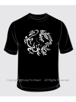 T1181 - Dragon & Phoneix Art Shirt - Series 1