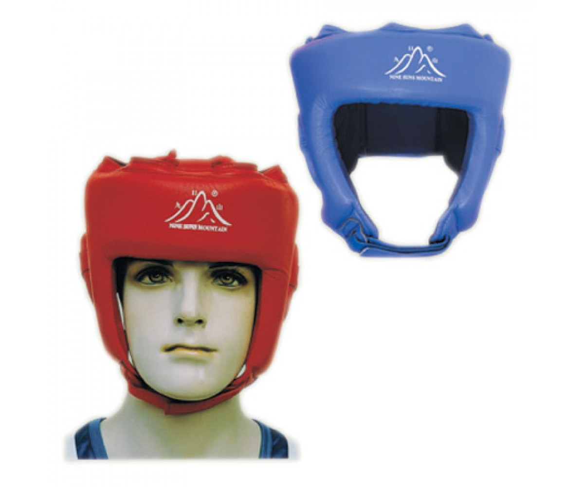 Competition Head Guard - Leather