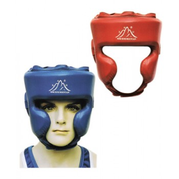 Full Head Guard - Leather