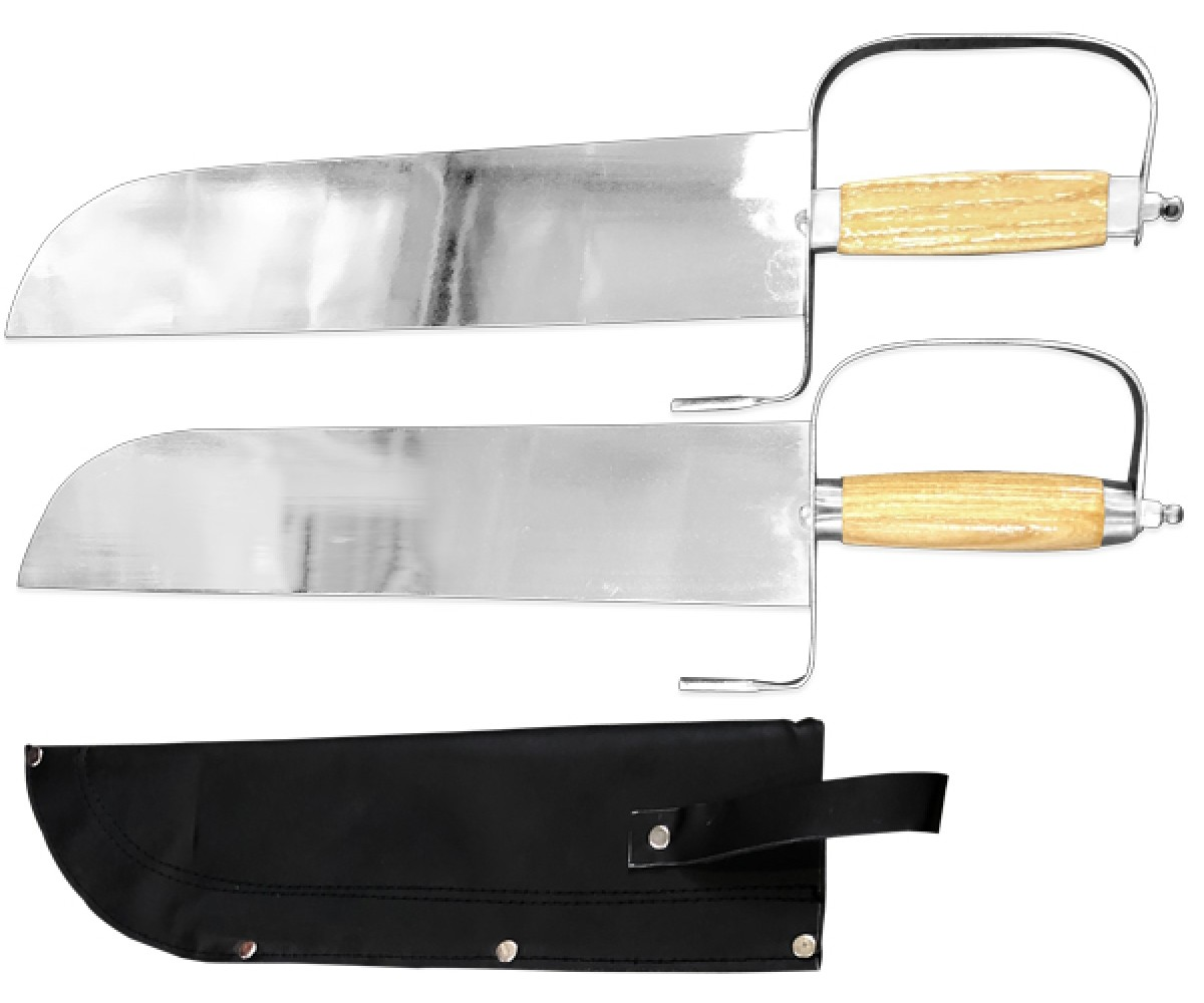 WSS050 - Double Butterfly Swords with Case