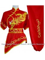 UC531 - Red uniform with golden Phoenix Embroidery